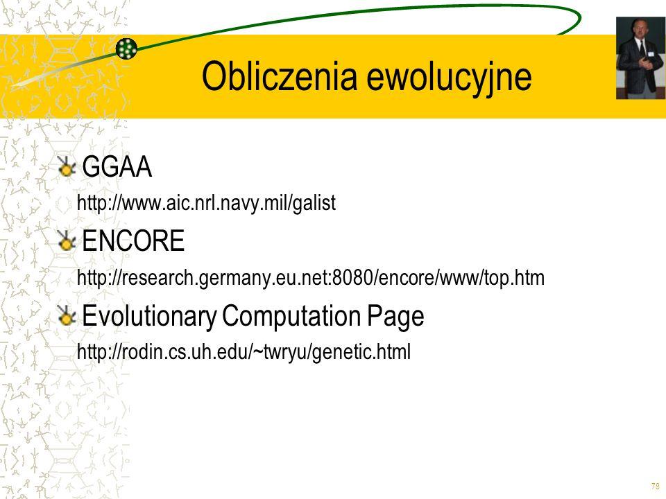 Obliczenia ewolucyjne