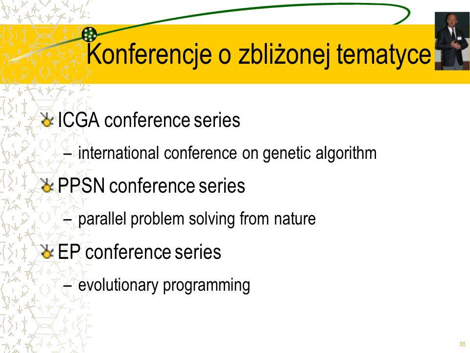 Konferencje o zbliżonej tematyce