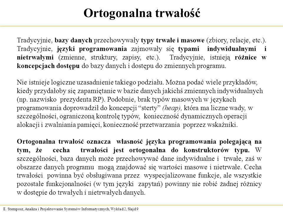 Ortogonalna trwałość