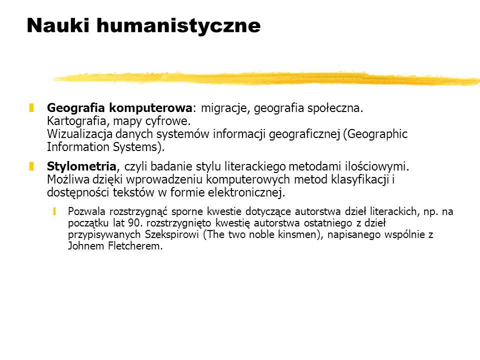 Nauki humanistyczne