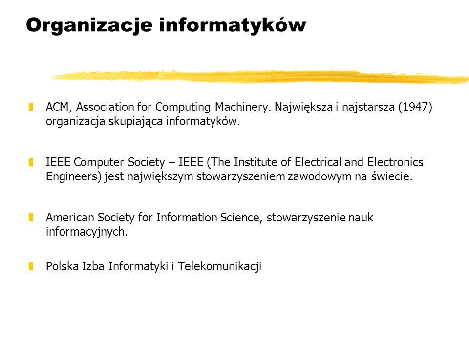 Organizacje informatyków