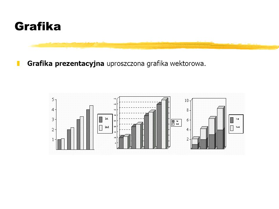Grafika Grafika prezentacyjna uproszczona grafika wektorowa.