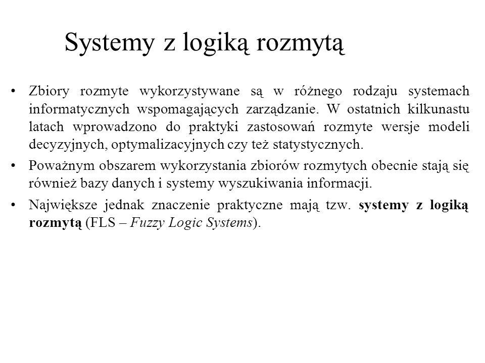 Systemy z logiką rozmytą