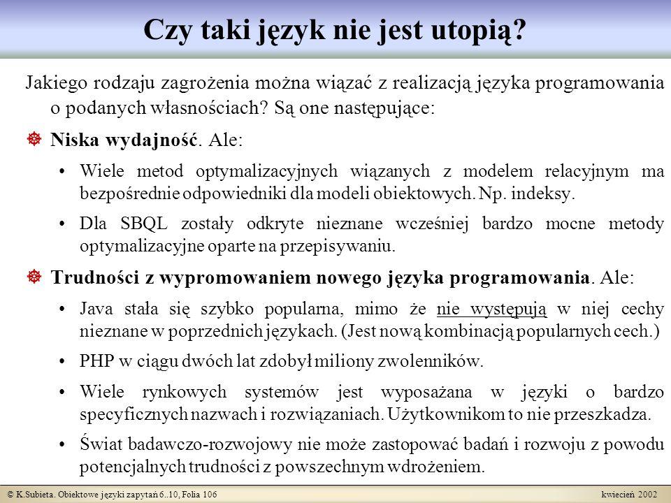 Czy taki język nie jest utopią