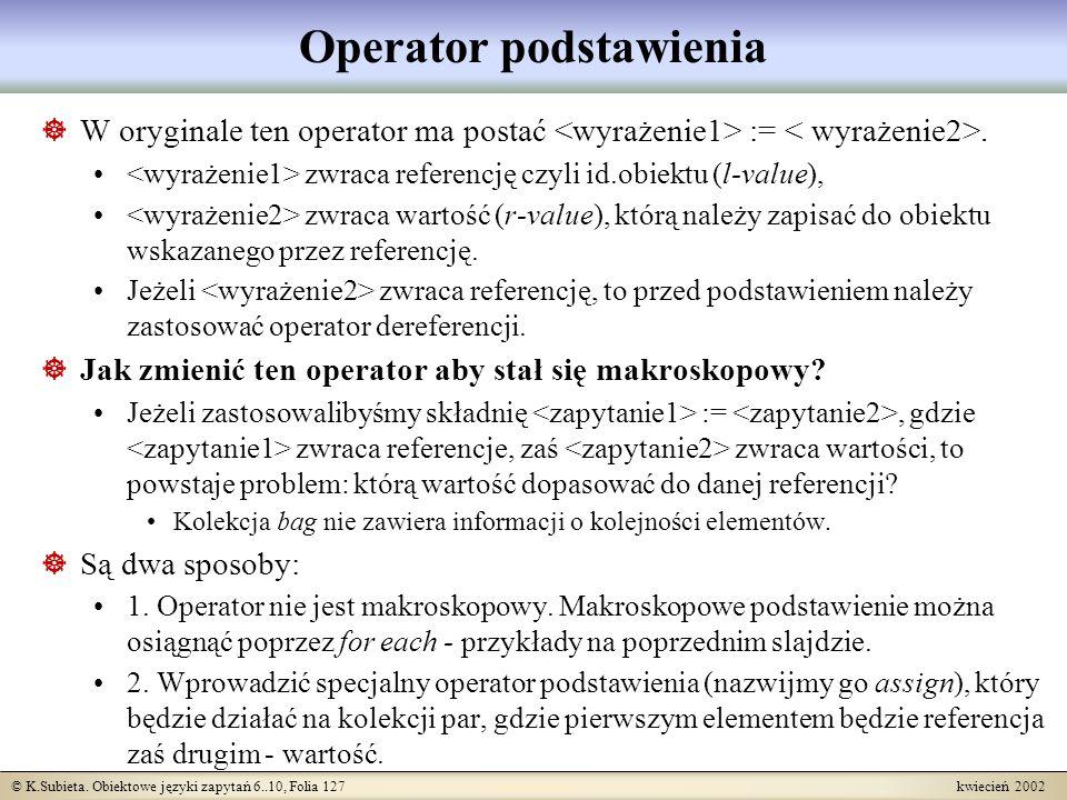Operator podstawienia