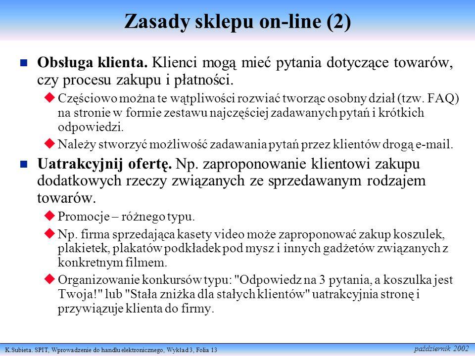 Zasady sklepu on-line (2)