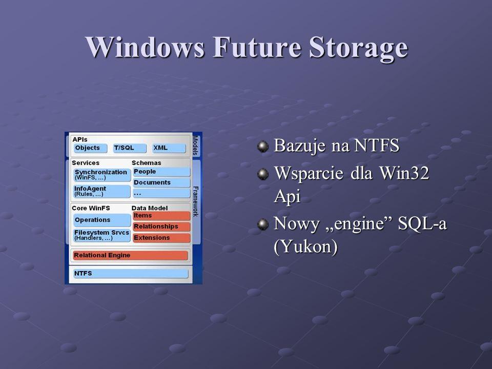 Windows Future Storage