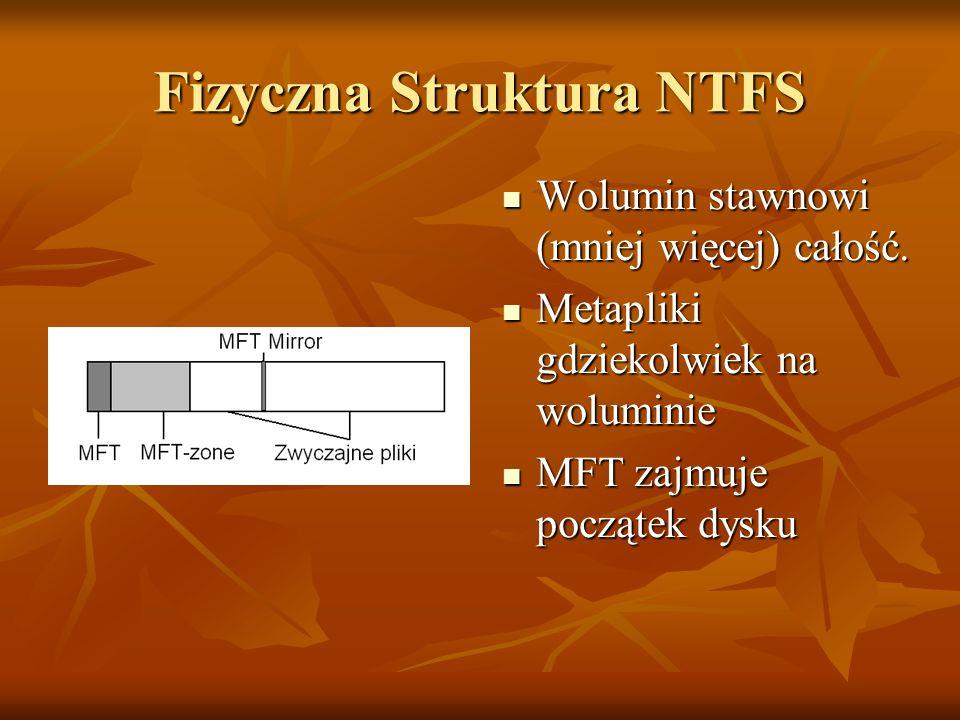 Fizyczna Struktura NTFS