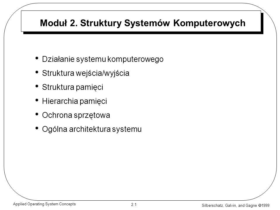 Moduł 2. Struktury Systemów Komputerowych