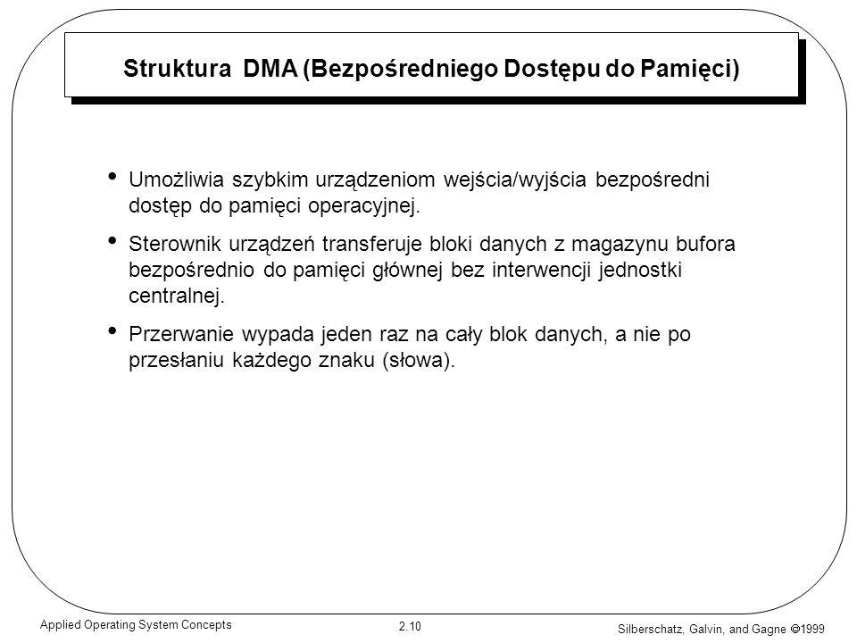 Struktura DMA (Bezpośredniego Dostępu do Pamięci)