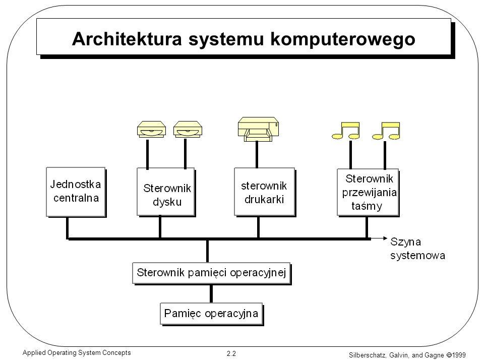 Architektura systemu komputerowego