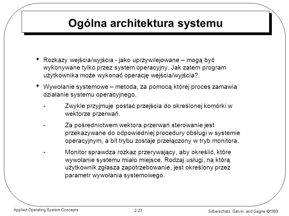 Ogólna architektura systemu