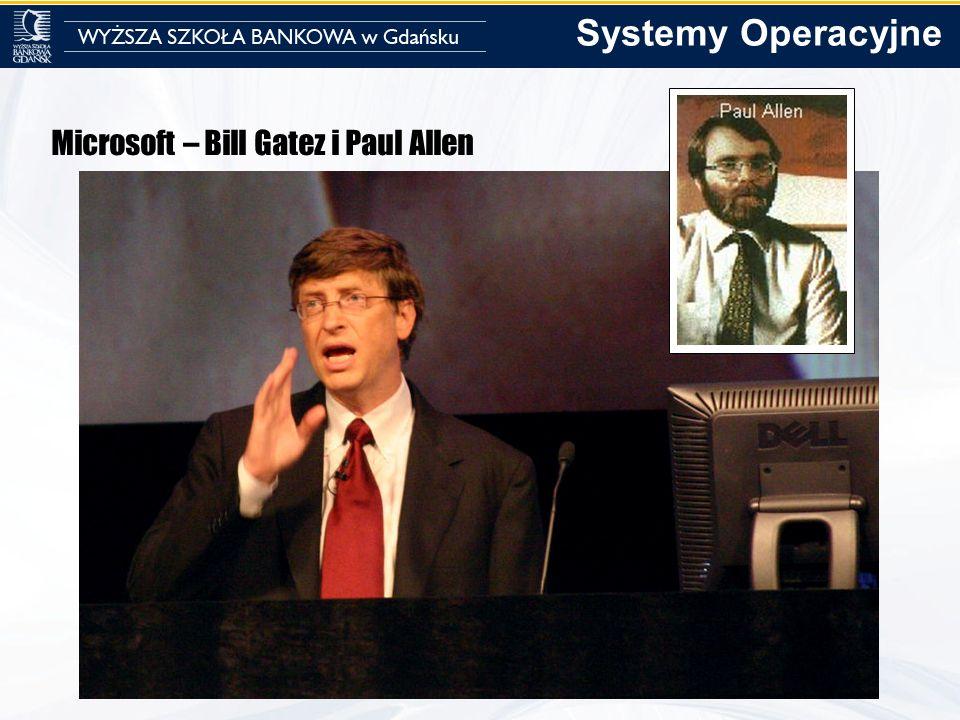 Systemy Operacyjne Microsoft – Bill Gatez i Paul Allen
