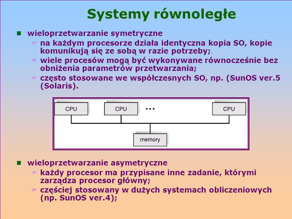 Systemy równoległe wieloprzetwarzanie symetryczne