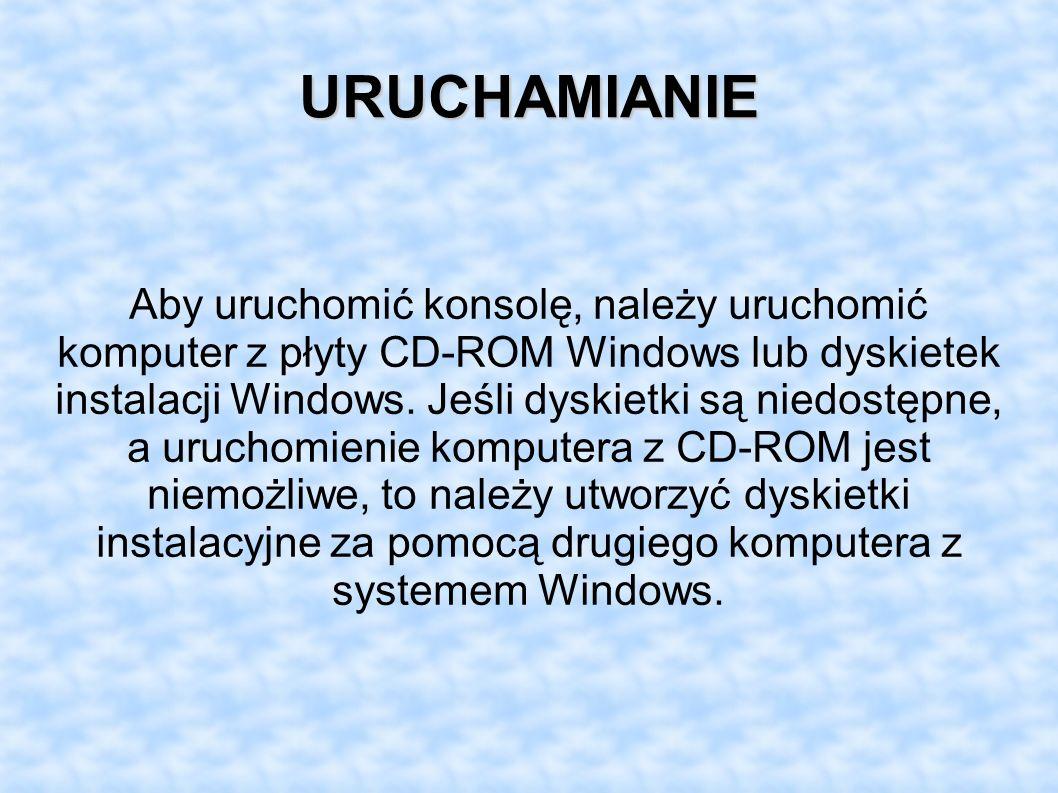 URUCHAMIANIE