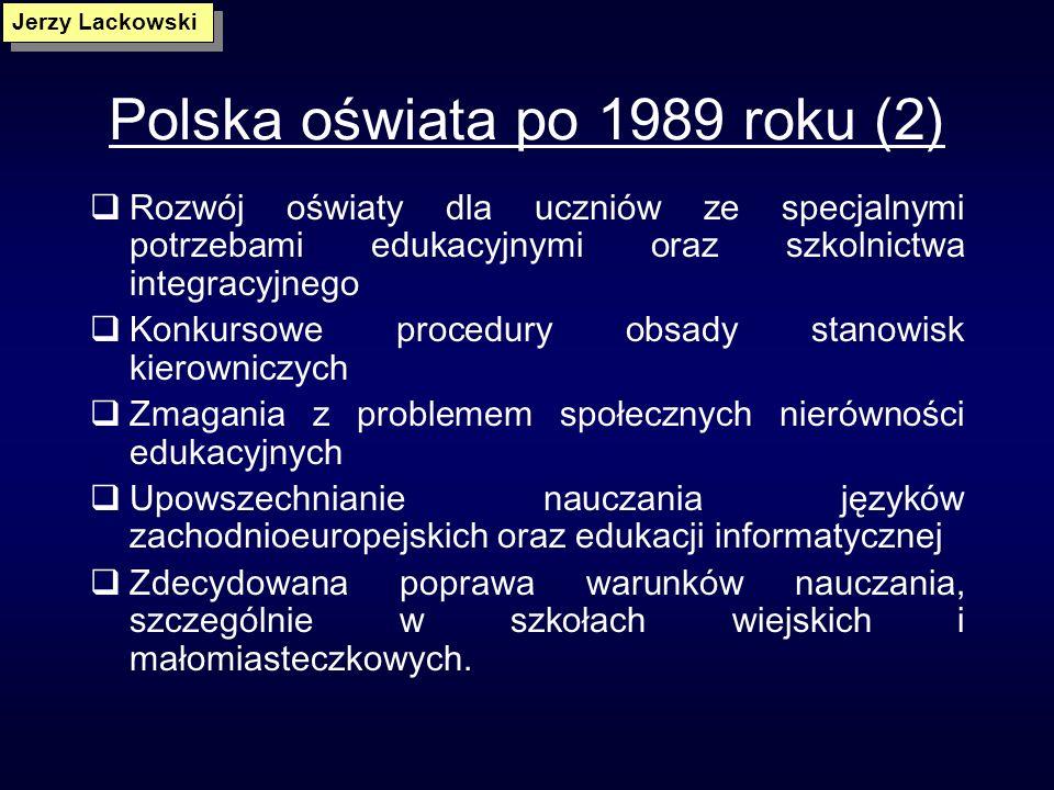 Polska oświata po 1989 roku (2)