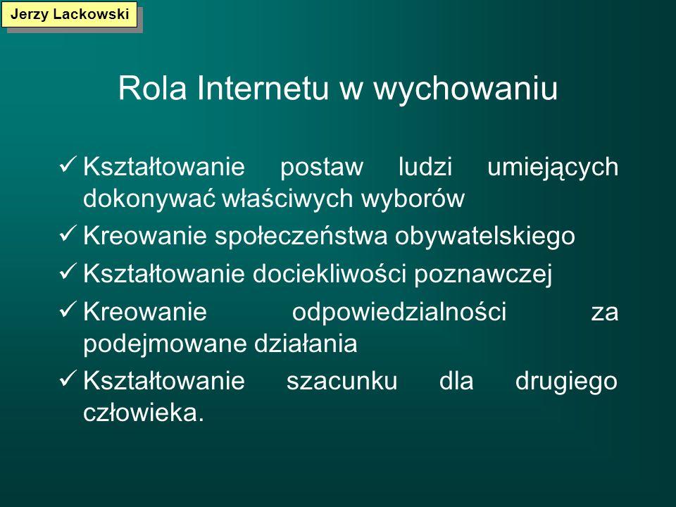 Rola Internetu w wychowaniu