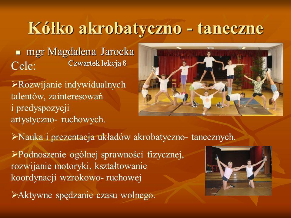 Kółko akrobatyczno - taneczne