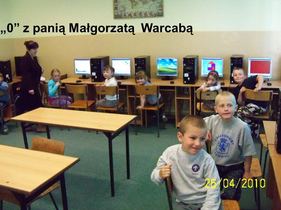"""""""0 z panią Małgorzatą Warcabą"""