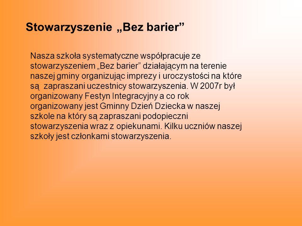 """Stowarzyszenie """"Bez barier"""