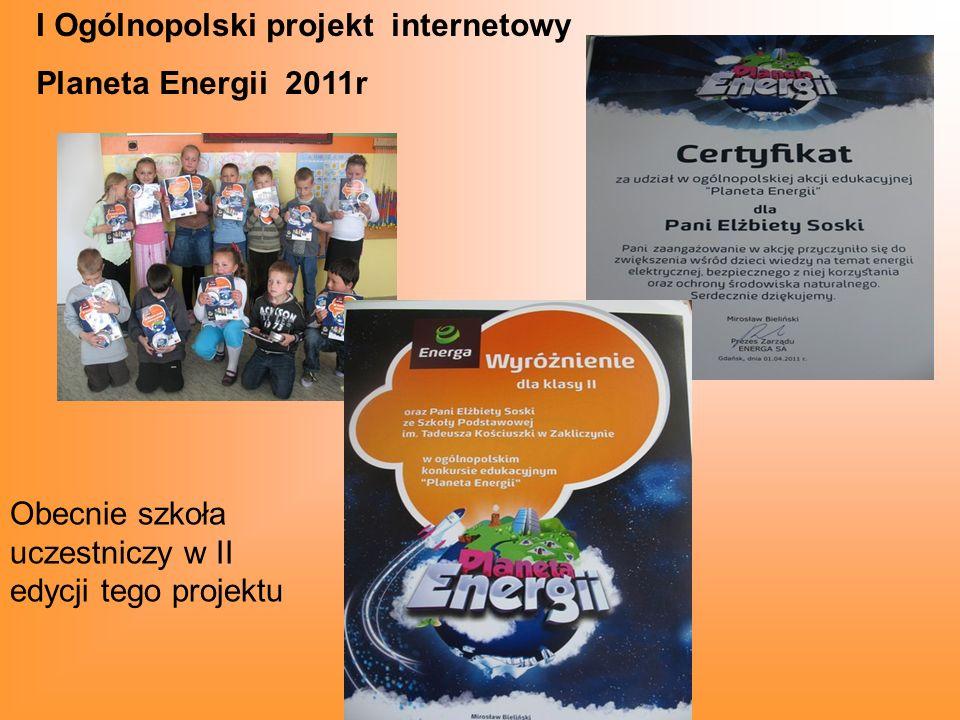 I Ogólnopolski projekt internetowy