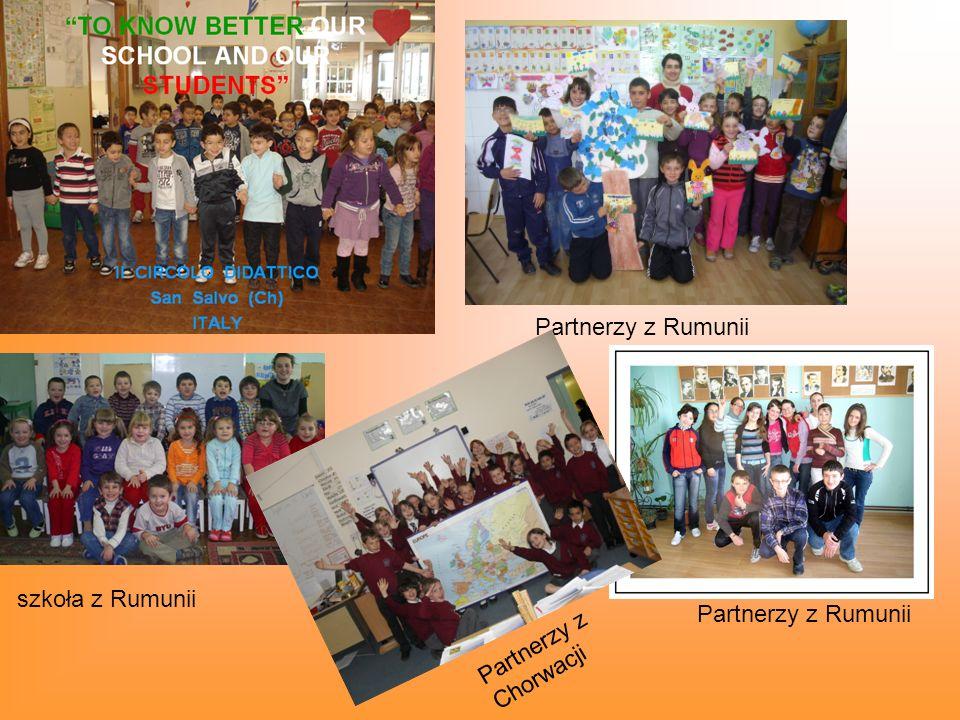 Partnerzy z Rumunii szkoła z Rumunii Partnerzy z Rumunii Partnerzy z Chorwacji