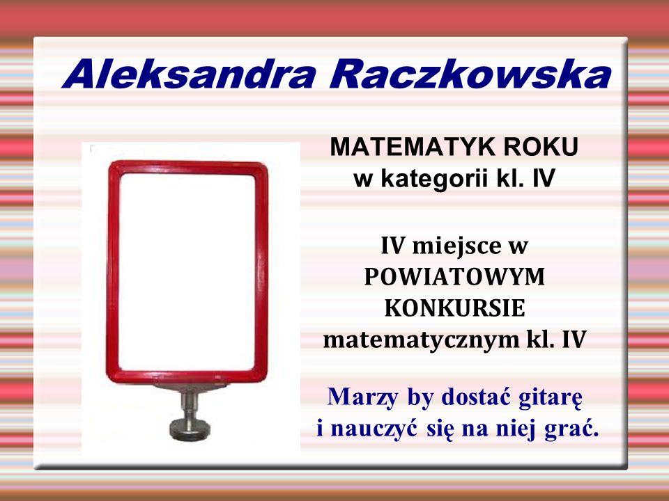 Aleksandra Raczkowska