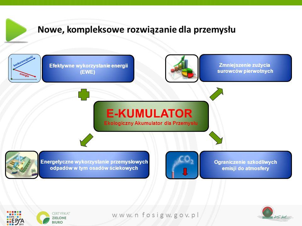 E-KUMULATOR Ekologiczny Akumulator dla Przemysłu