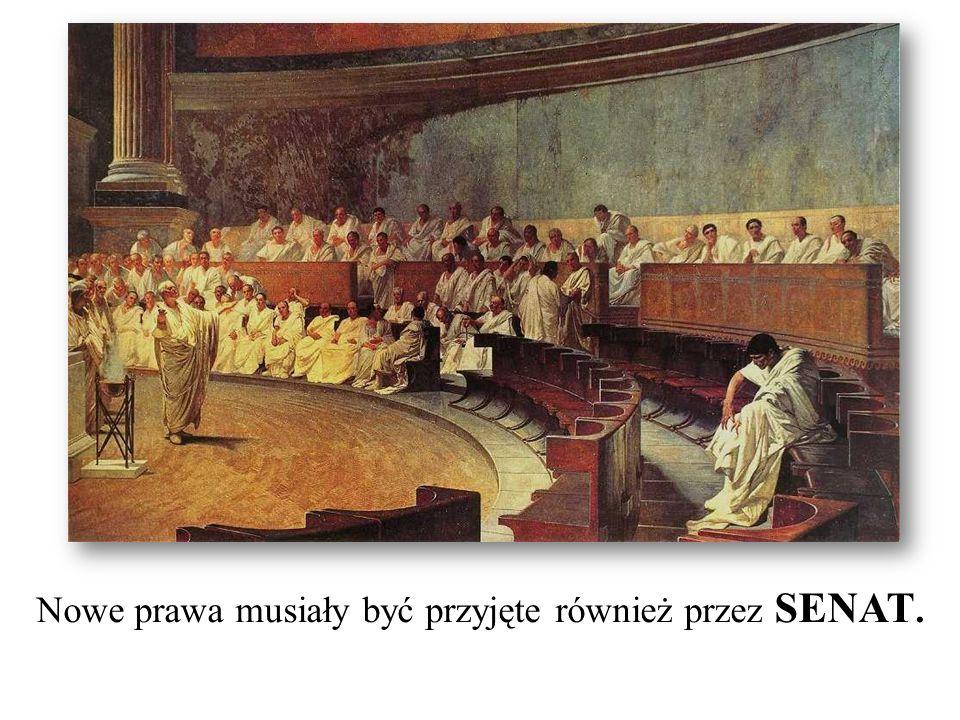 Nowe prawa musiały być przyjęte również przez SENAT.