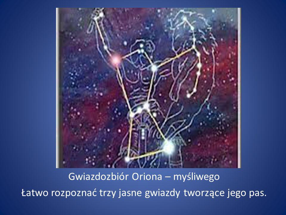 Gwiazdozbiór Oriona – myśliwego