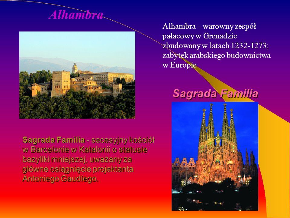 Alhambra Sagrada Familia