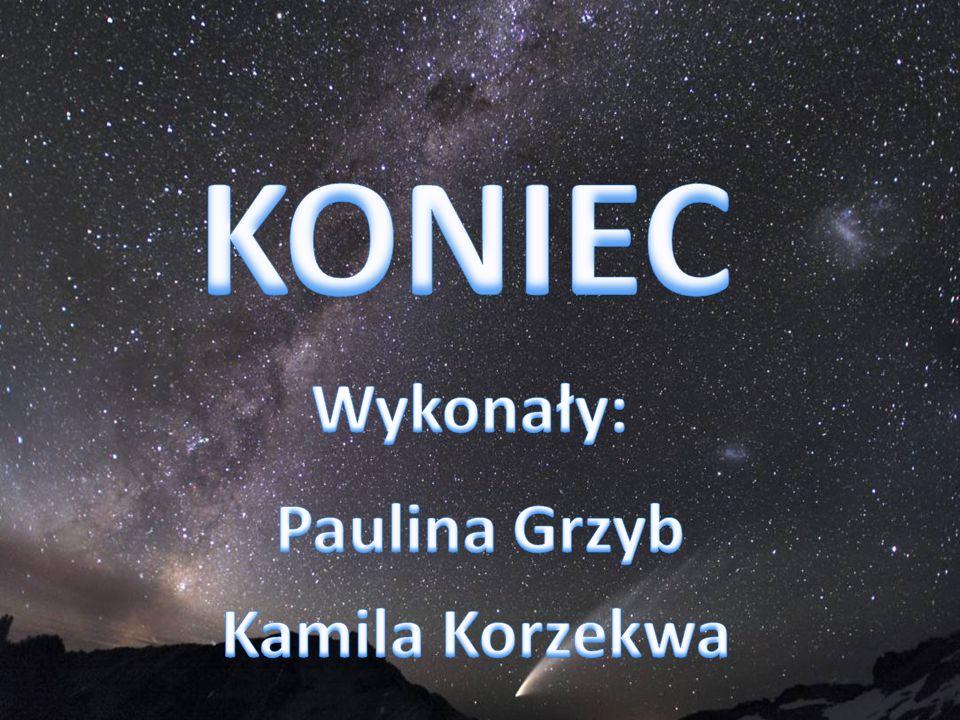 KONIEC Wykonały: Paulina Grzyb Kamila Korzekwa