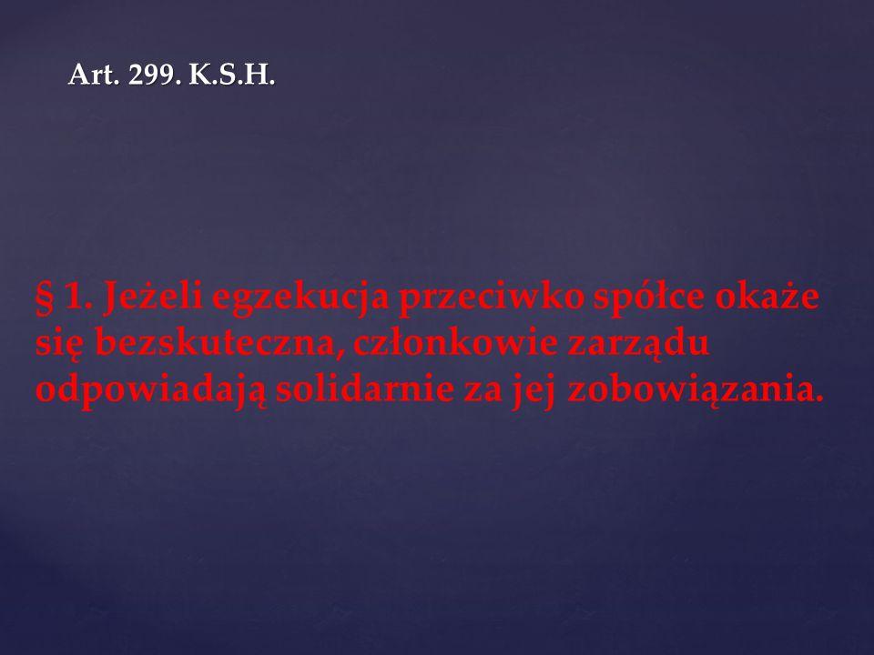 Art. 299. K.S.H.
