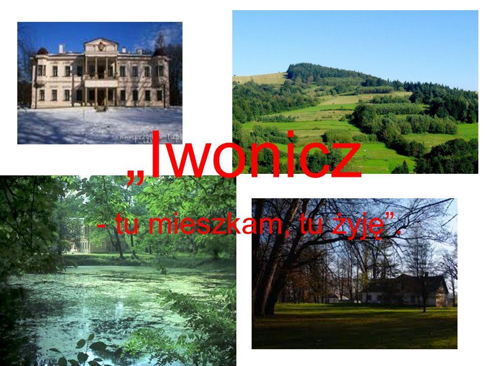 """""""Iwonicz - tu mieszkam, tu żyję ."""