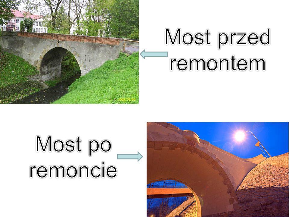 Most przed remontem Most po remoncie