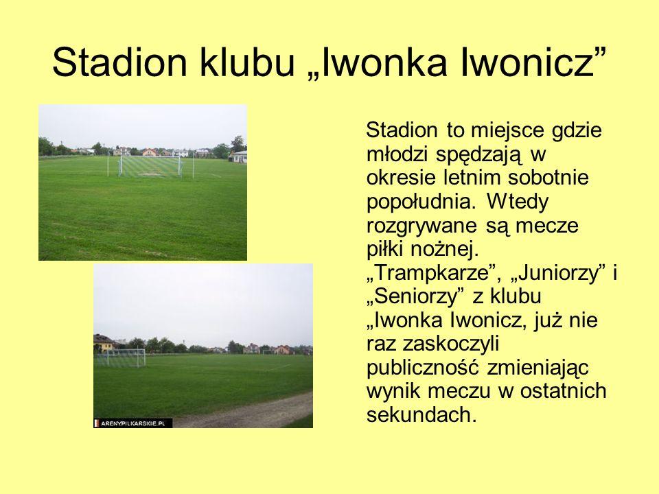 """Stadion klubu """"Iwonka Iwonicz"""