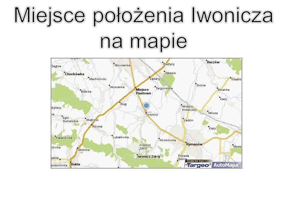 Miejsce położenia Iwonicza