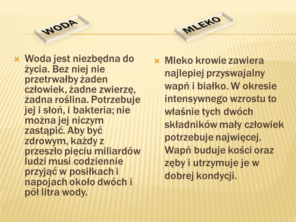 MLEKO WODA.