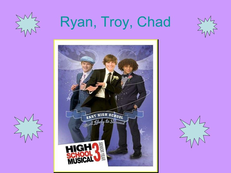 Ryan, Troy, Chad