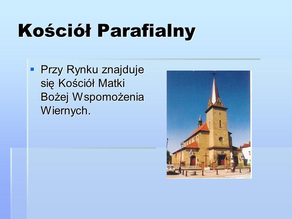 Kościół Parafialny Przy Rynku znajduje się Kościół Matki Bożej Wspomożenia Wiernych.