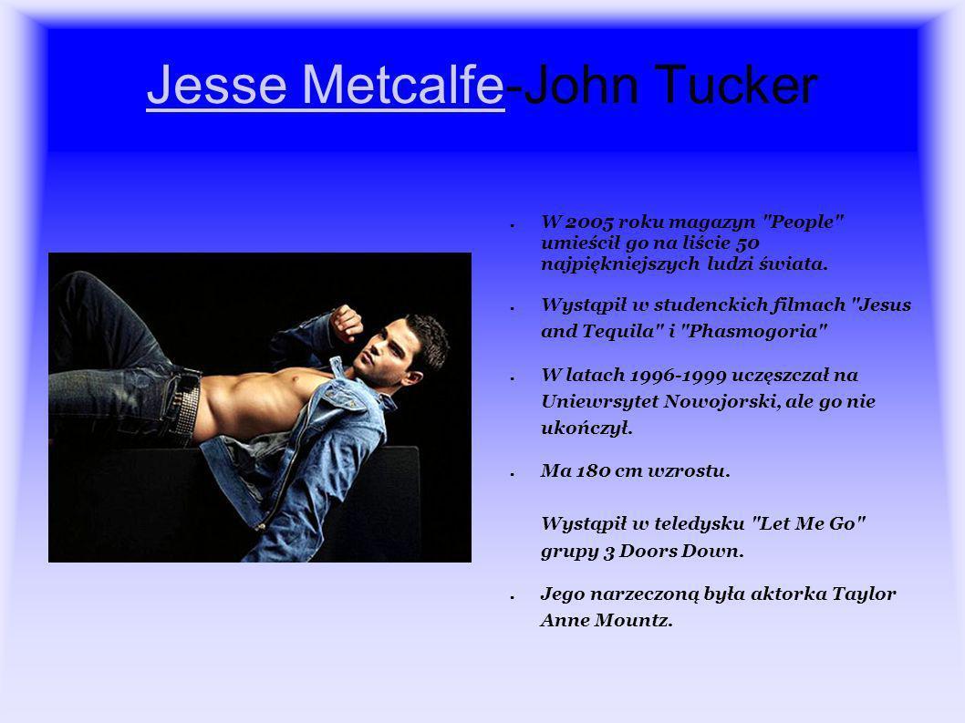 Jesse Metcalfe-John Tucker