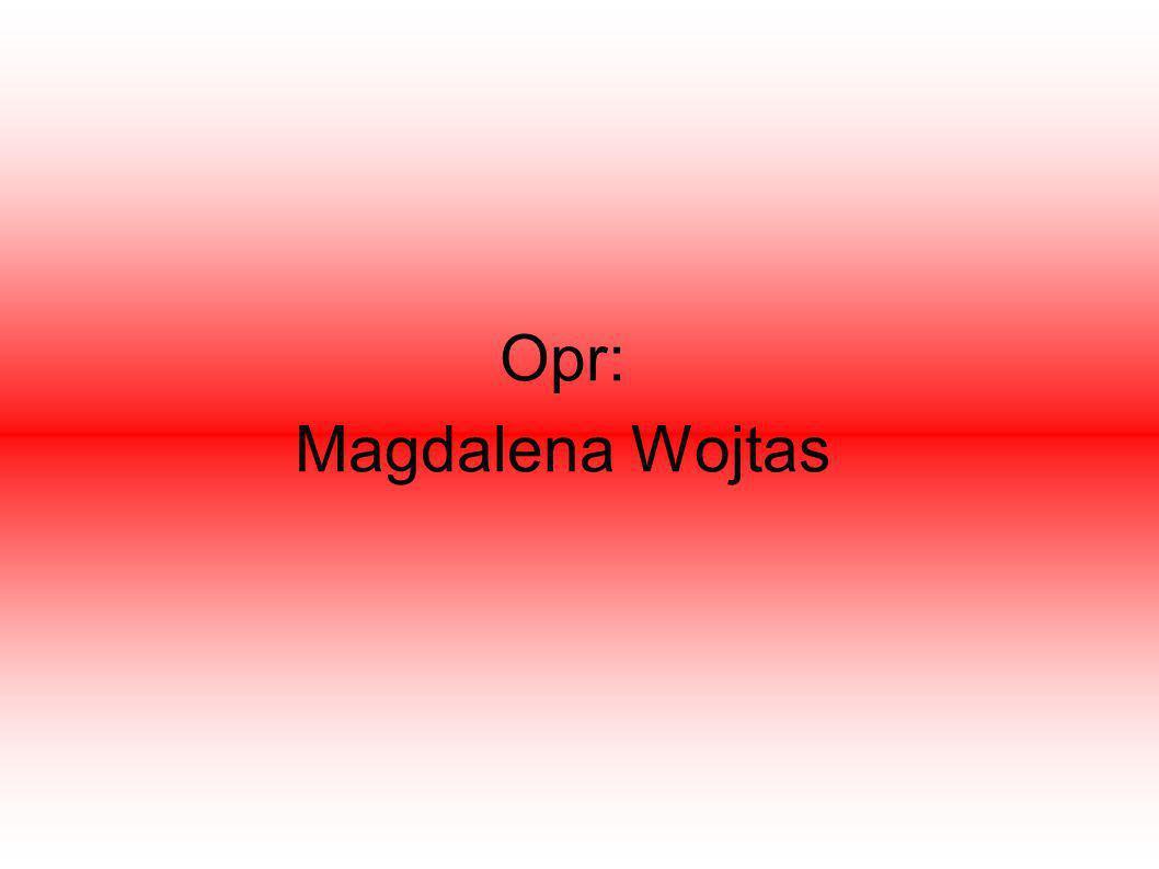 Opr: Magdalena Wojtas