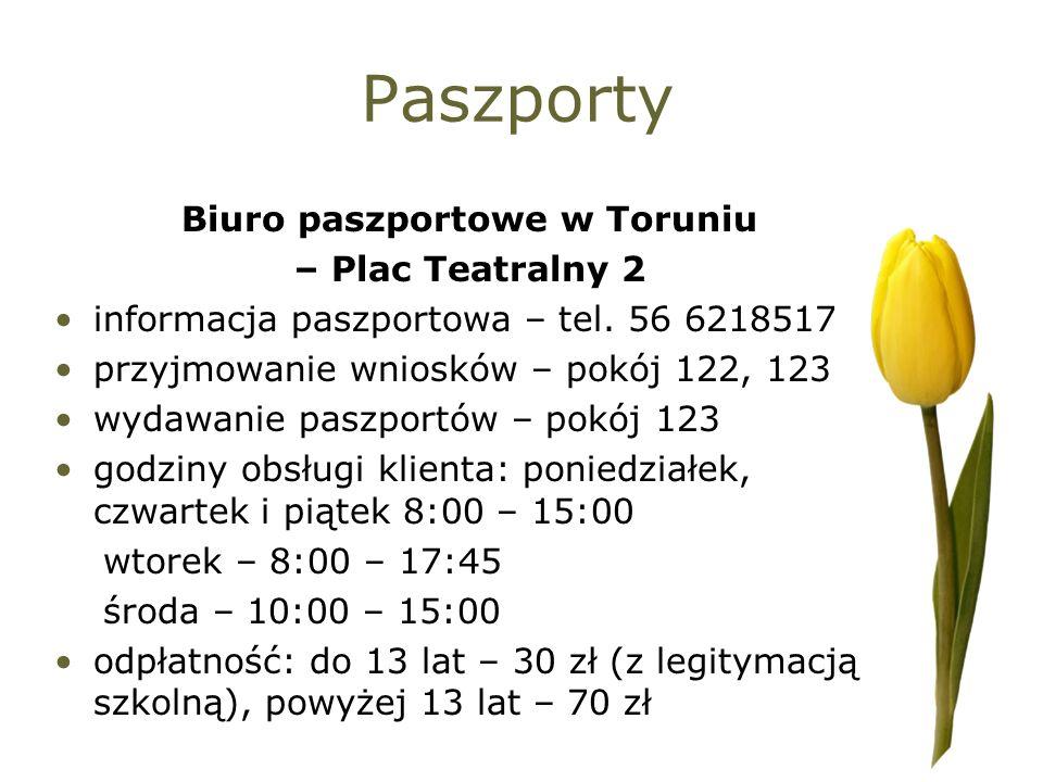Biuro paszportowe w Toruniu