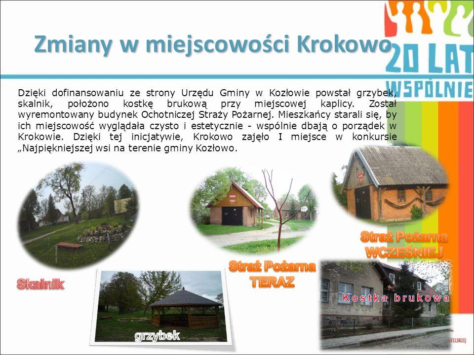 Zmiany w miejscowości Krokowo