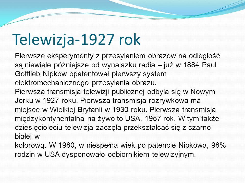 Telewizja-1927 rok