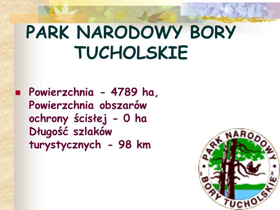 PARK NARODOWY BORY TUCHOLSKIE