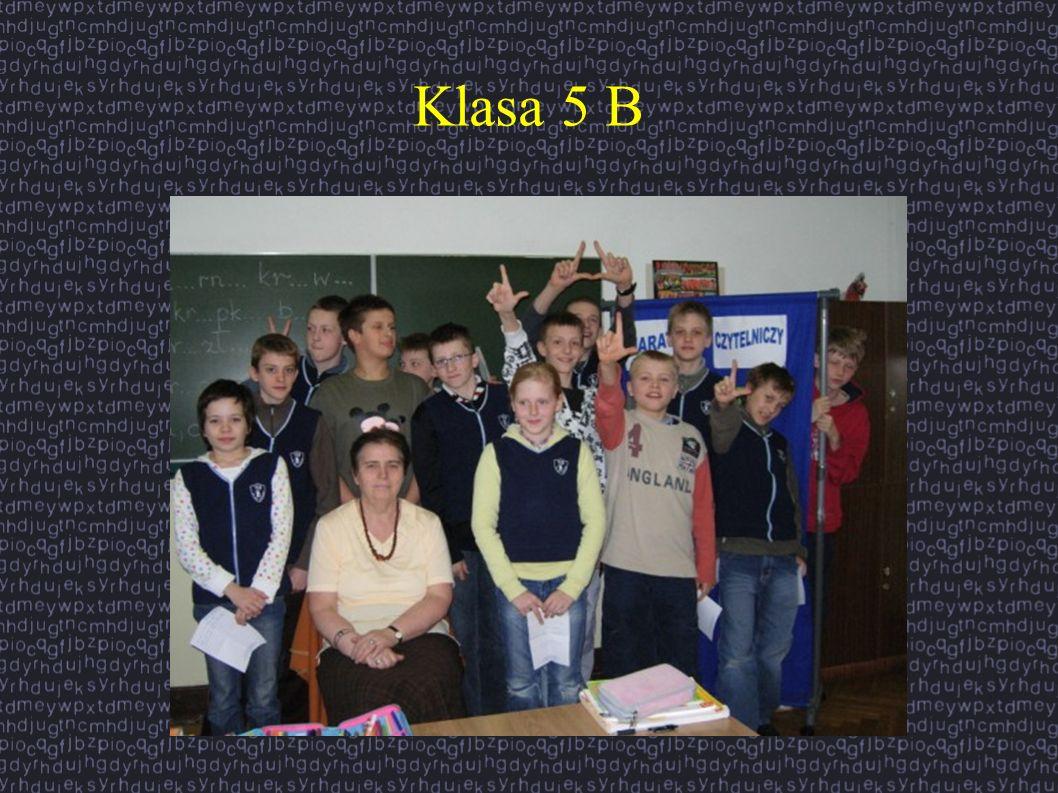 Klasa 5 B