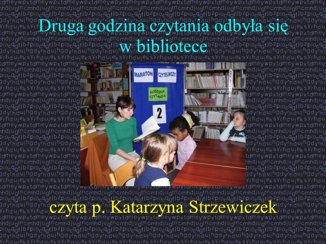 Druga godzina czytania odbyła się w bibliotece