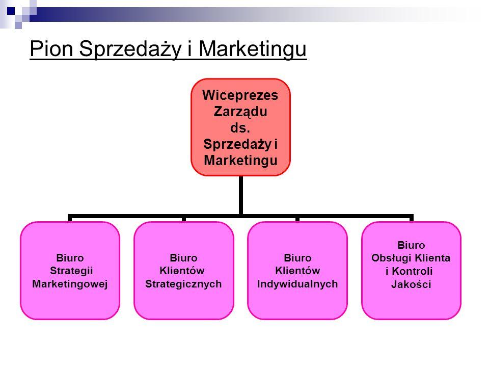 Pion Sprzedaży i Marketingu