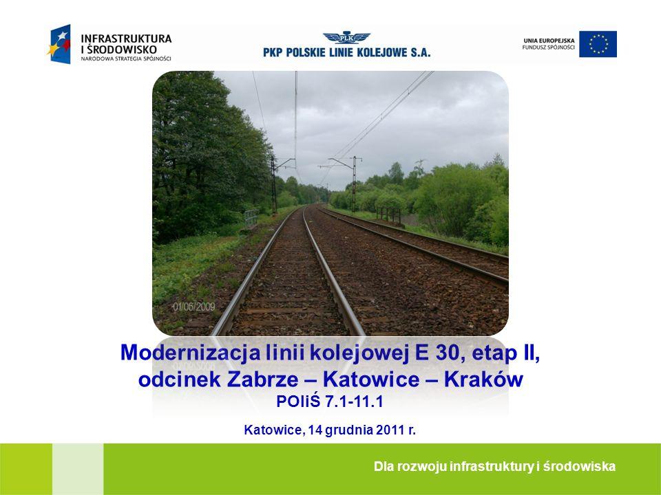Modernizacja linii kolejowej E 30, etap II,